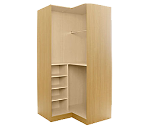 L-Shape Wardrobe