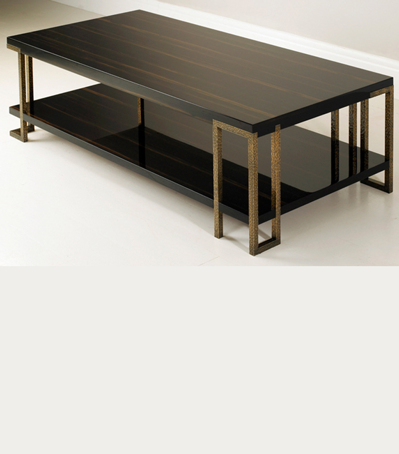 PORTRAY BLACK EBONY COFFEE TABLE