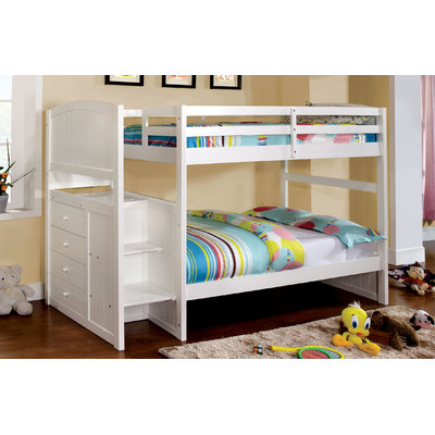 white pearl Bunk Bed